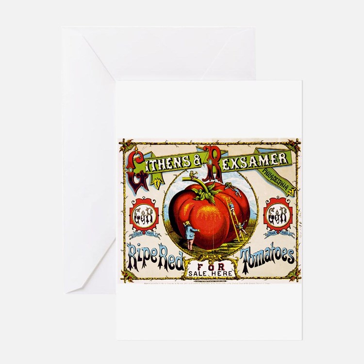 Cute Tomato Greeting Card