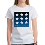 United States with 9 Stars Women's T-Shirt