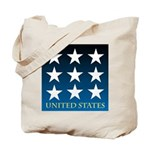 United States with 9 Stars Tote Bag