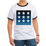 United States with 9 Stars Ringer T