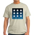 United States with 9 Stars Light T-Shirt