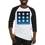 United States with 9 Stars Baseball Jersey
