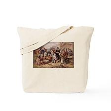 Cute Pilgrims Tote Bag