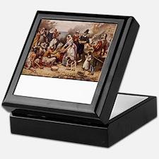 Cute Pilgrims Keepsake Box