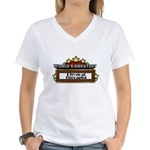 World's Greatest Physical The Women's V-Neck T-Shi
