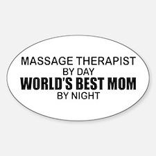 World's Best Mom - MASSAGE Decal