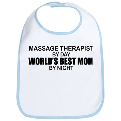 World's Best Mom - MASSAGE Bib