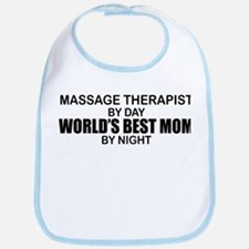 World's Best Mom - MASSAGE Bib