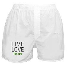 Live Love Run Boxer Shorts
