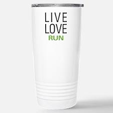 Live Love Run Stainless Steel Travel Mug