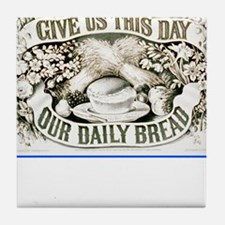 Cute Day of prayer Tile Coaster