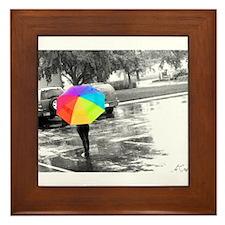 Unique Umbrella Framed Tile