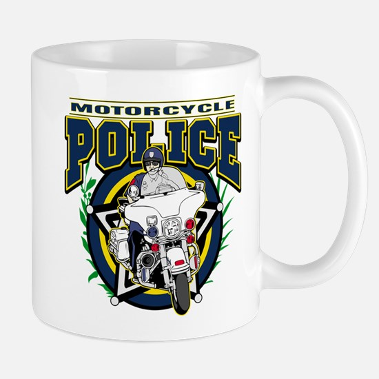 Motorcycle Police Officer Mug