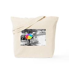 Cute Umbrella Tote Bag