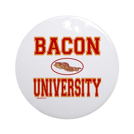 BACON/PORK Ornament (Round)