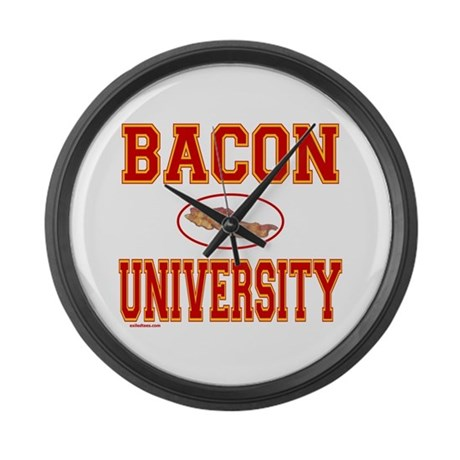 BACON/PORK Large Wall Clock