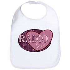 Radio Girl II Bib
