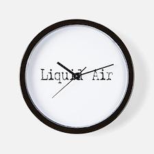 Liquid Air Wall Clock