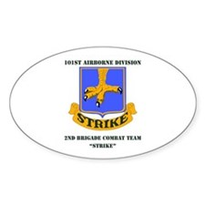 DUI - 2nd BCT - Strike with Text Decal