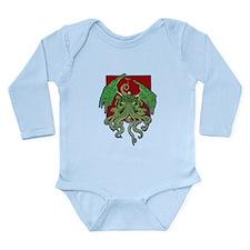 Octolove Long Sleeve Infant Bodysuit