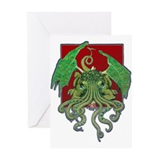 Octolove Greeting Card