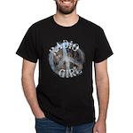 Radio Girl Black T-Shirt