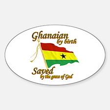 Ghanaian by birth Decal