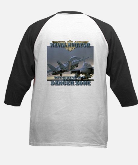 Highway to the Danger Zone Kids Baseball Jersey