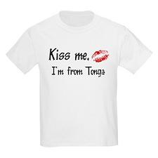 Kiss Me: Tonga Kids T-Shirt