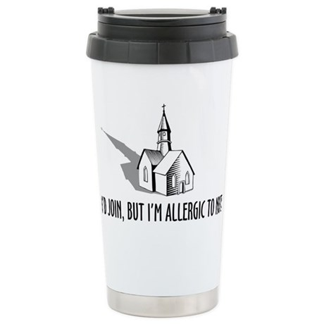 Church and Nuts Stainless Steel Travel Mug