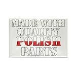 Quality Polish Parts Rectangle Magnet
