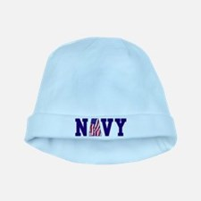 Funny Navy dolphins baby hat