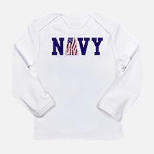 Cool Military Long Sleeve Infant T-Shirt