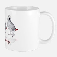 african grey parrots Mug