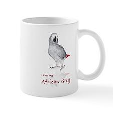 i love african greys Mug