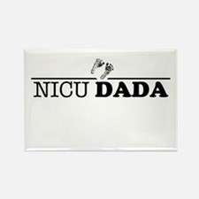 NICU Dad Rectangle Magnet