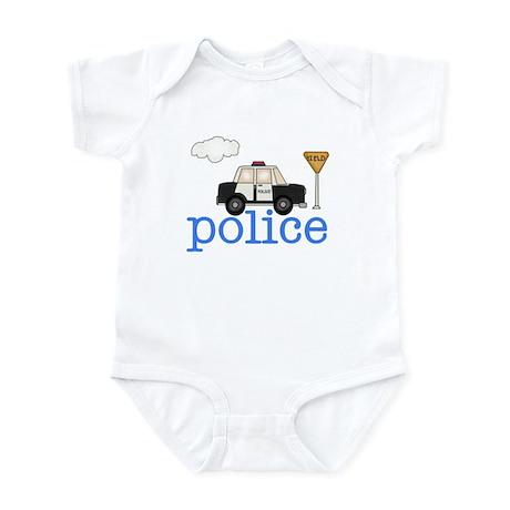Police Car Infant Creeper