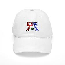 Red Vs Blue? Baseball Cap