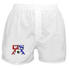 Red Vs Blue? Boxer Shorts