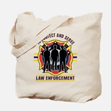 Police To Protect and Serve Tote Bag