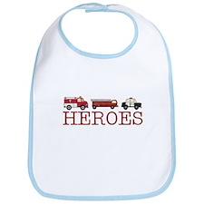Heroes Bib