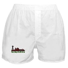 Farm Living is The Life Boxer Shorts