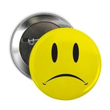 "Unhappy Face 2.25"" Button"