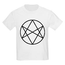 Unicursal Hexagram Kids T-Shirt
