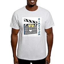 Director Clapboard Ash Grey T-Shirt