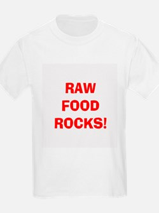Kids Raw Food Rocks T-Shirt