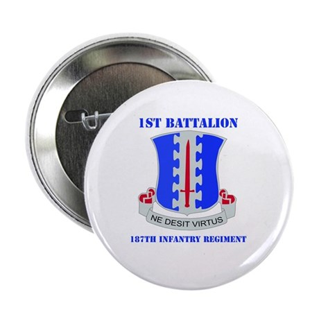 DUI - 1st Bn - 187th Infantry Regt with Text 2.25""