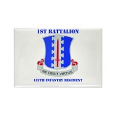 DUI - 1st Bn - 187th Infantry Regt with Text Recta