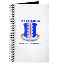 DUI - 1st Bn - 187th Infantry Regt with Text Journ