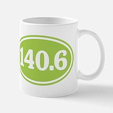 140.6 Triathlon Green Mug